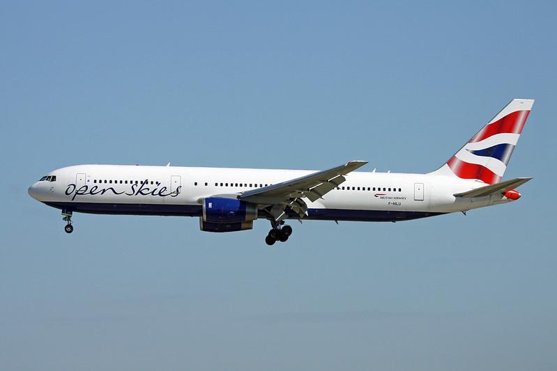 "F-HILU Boeing 767-336ER ""OpenSkies"" c/n 24341 Paris-Orly/LFPO/ORY 10-06-17"