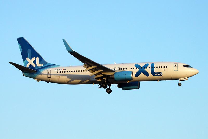 """F-HJUL Boeing 737-8Q8 """"XL Airways France"""" c/n 38819 Palma/LEPA/PMI 15-06-16"""