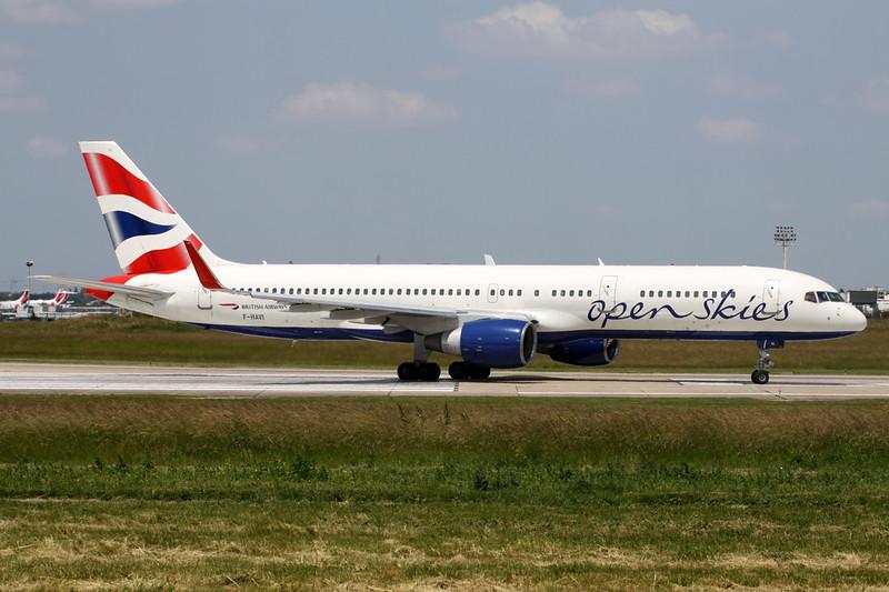"F-HAVI Boeing 757-26D ""OpenSkies"" c/n 24473 Paris-Orly/LFPO/ORY 09-06-15"
