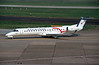 "F-GRGF Embraer ERJ-145EU ""Regional Airlines"" c/n 145050 Dusseldorf/EDDL/DUS 19-05-98 (35mm slide)"
