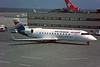"F-GLIY Canadair Regional-Jet 100ER ""Air Littoral"" c/n 7053 Geneva/LSGG/GVA 09-03-96 (35mm slide)"