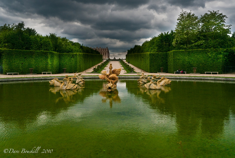 Dragon Fountain at Palace of Versailles in France