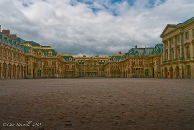 Entrance of the Palace de Versailles, France