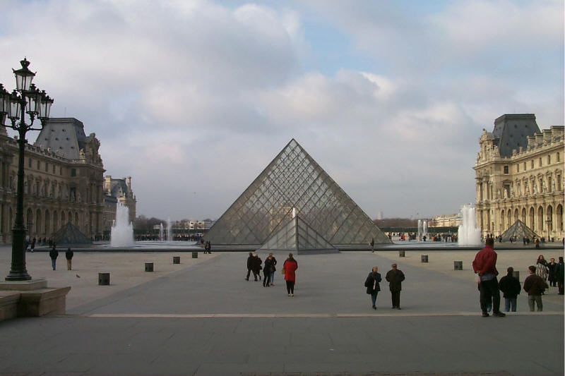Louvre Glass Pyramid - Paris, France