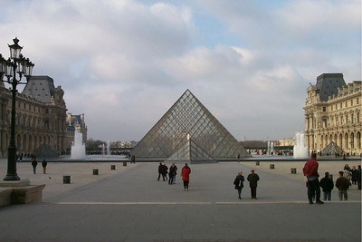 Louvre Glass Pyramid - Paris, France