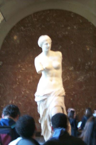 Venus de Milo in Louvre Museum - Paris, France