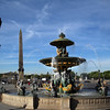 Paris France, Place de la Concorde  Fountain of River Commerce & Navigation