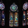Paris France, Notre Dame Cathedral windows