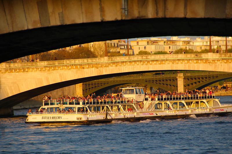 Paris France, Sunset Cruise on the Seine