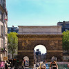 Paris France, Porte Saint Martin