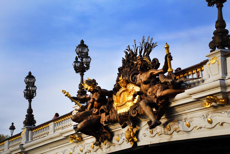 Paris France, Pont Alexandre III