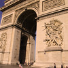 Paris France,  Arc de Triomphe