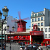 Paris France, Moulin Rouge