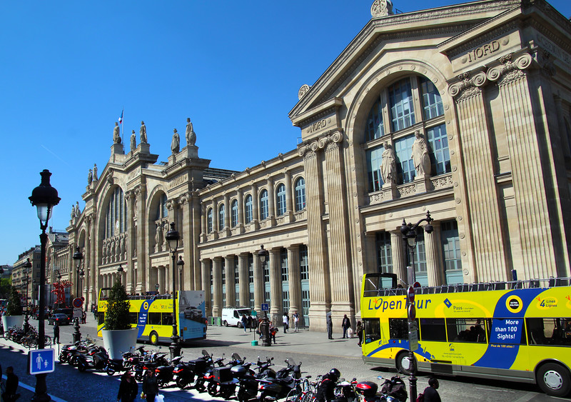 Paris France, Gare du Nord Train Station