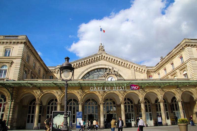 Paris France, Gare de L'Est Train Station