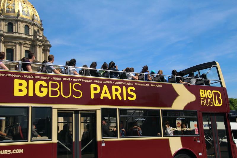 Paris France, Paris Pass Lib' Bus Tour