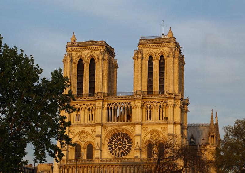 Paris France,  Cathédrale Notre Dame de Paris