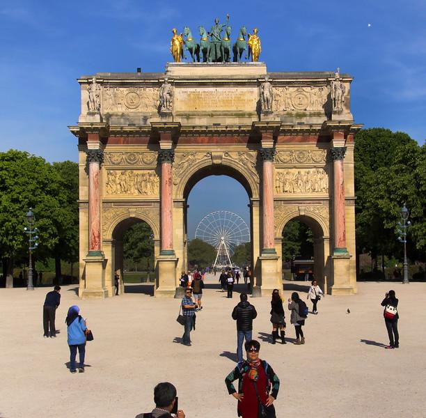 Paris France, Arc de Triomphe du Carrousel