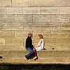 Paris France, Lovers Along the Banks of the Seine