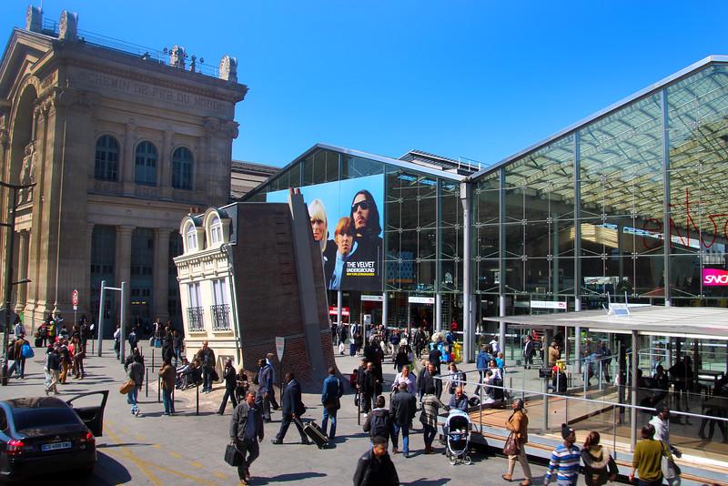 Paris France, Gare Du Nord