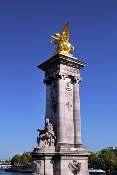 Paris France, Pont-Alexandre-III Bridge