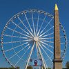 Paris France, Obelisk of Luxor,  The Big Wheel on the Place de la Concorde