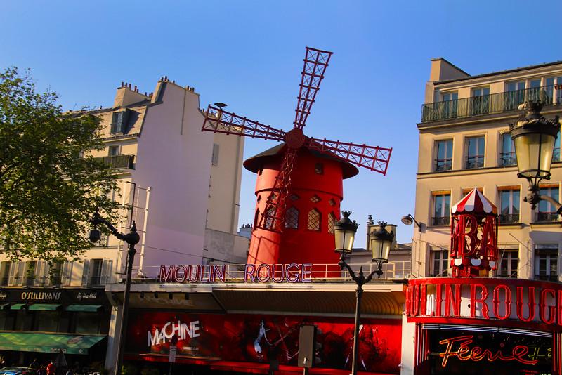 Paris France, Moulin Rouge