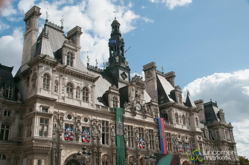Hotel de Ville all Decked Out - Paris