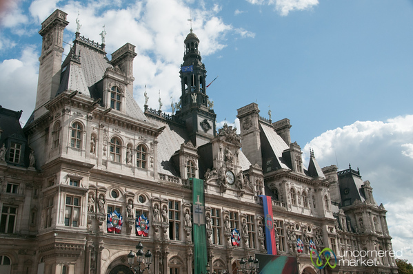 Hotel de Ville all Decked Out - Paris