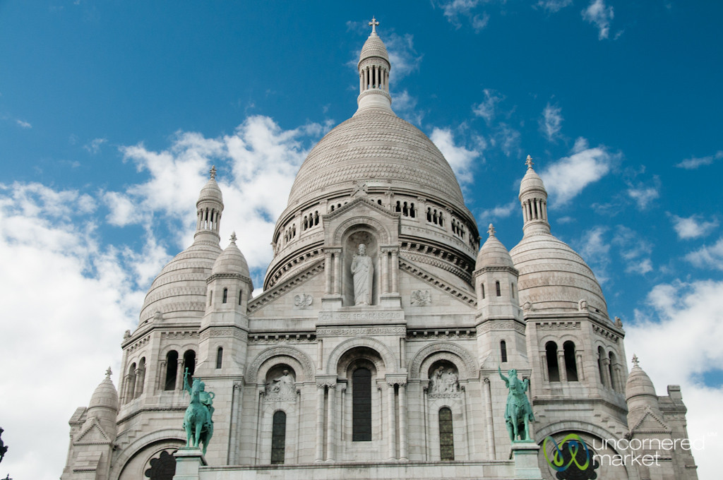 Sacre Coeur on Late Afternoon - Paris
