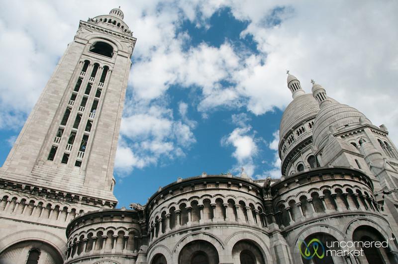 Sacre Coeur on Late Afternoon - Paris