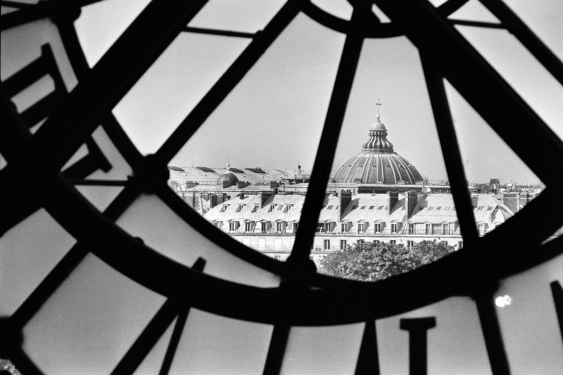 Clock at Musee D'Orsay - Paris, France