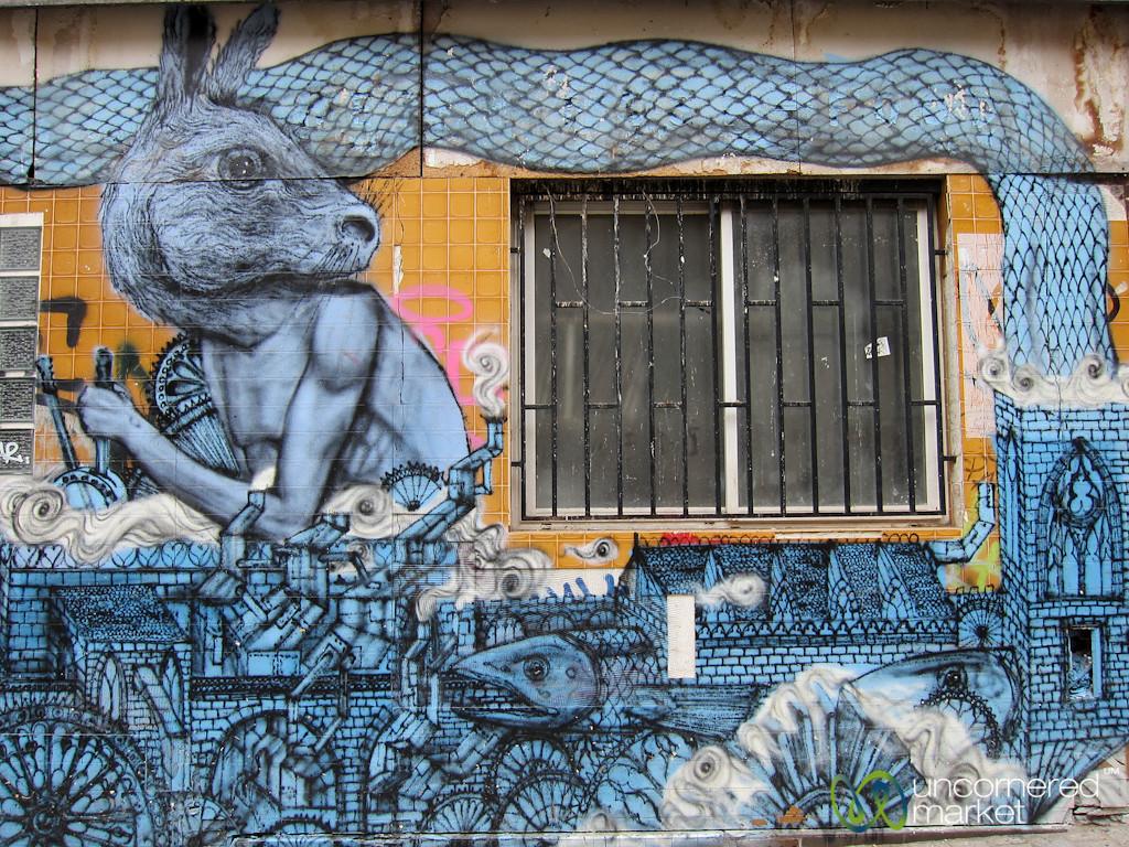 Paris Street Art in Bellevue