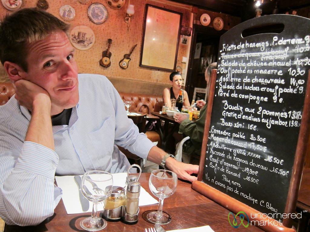 Dinner at Le Felteau - Le Marais, Paris