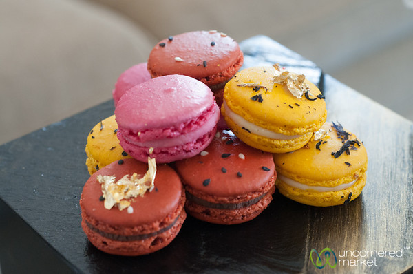 Colorful Macaroons - Shangri-La Hotel, Paris