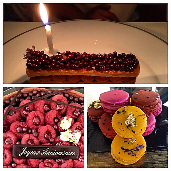 Thx to @shangrilaparis for making a girl (Audrey) feel special on her birthday #lovingthemoment