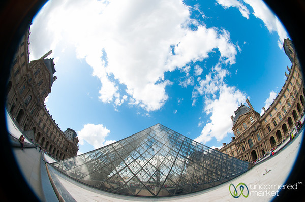 Louvre Pyramid - Paris, France