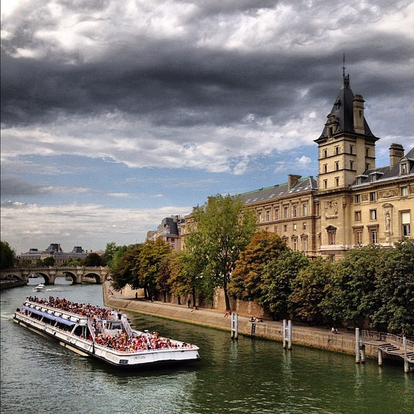 Palais de Justice, cruising the Seine in Paris #lovingthemoment