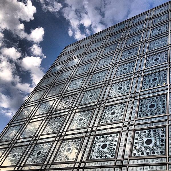 Slice the sky, Arabe Institut du Monde #Paris #lovingthemoment