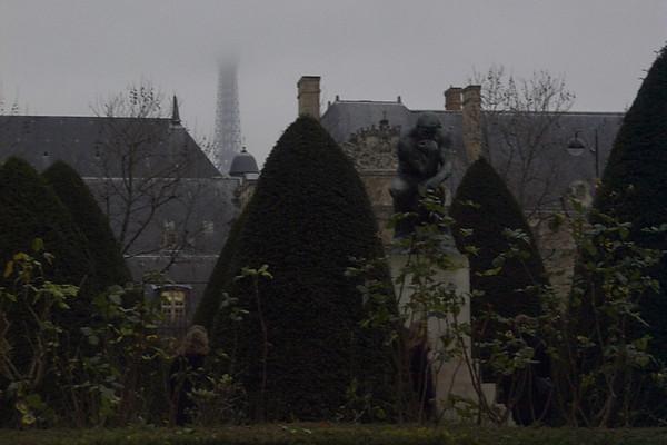 Foggy Paris - Paris, France