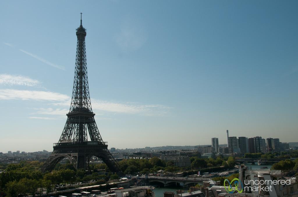 Eiffel Tower, View from Shangri-La Paris
