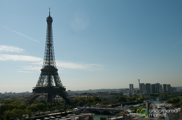 Eiffel Tower, View from Shangri-La Paris