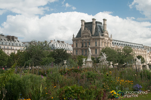 Louvre Museum and Gardens - Paris