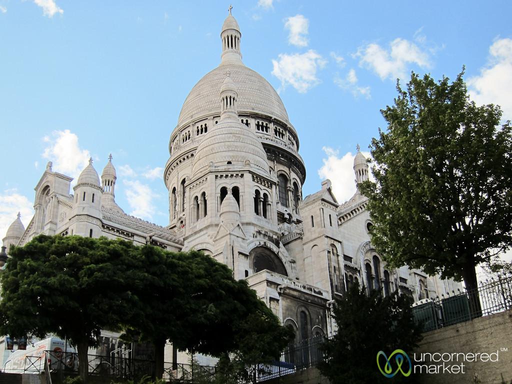 Sacre Coeur, Side View - Paris