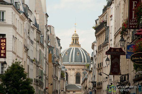 Paris Street Scene, Left Bank