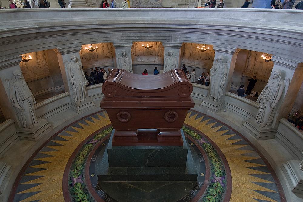 The Tomb of Napoleon Bonaparte, Paris, France