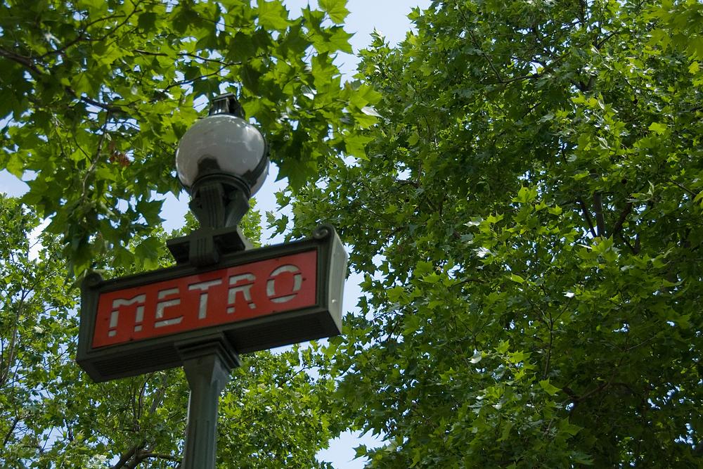 le Metro, Paris, France