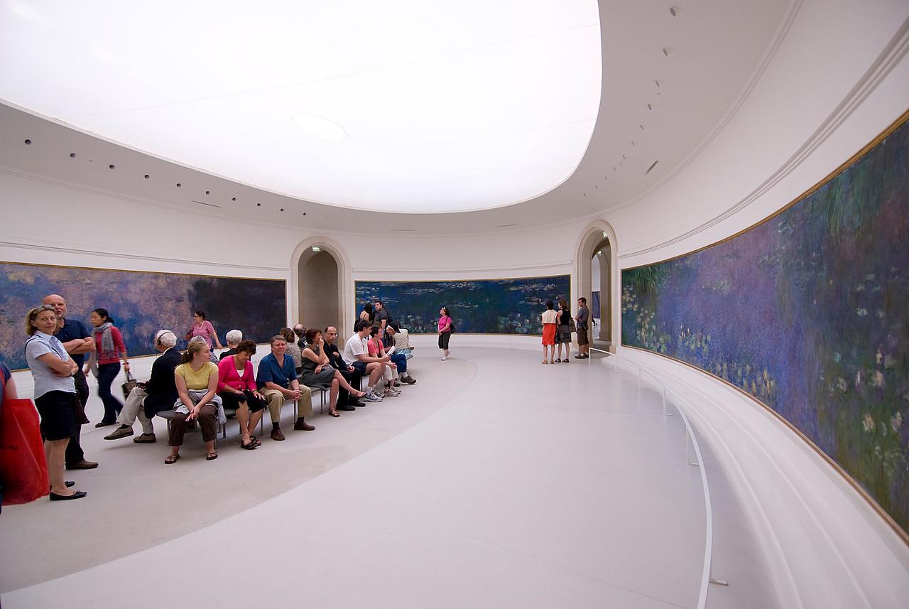 Inside the Musee d'Art Moderne de la Ville de Paris in Paris, France