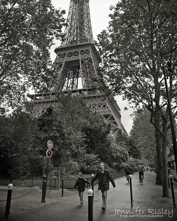 Eiffel Tower Stroll