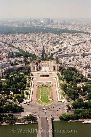 Paris - E Tower - View of Paris 2